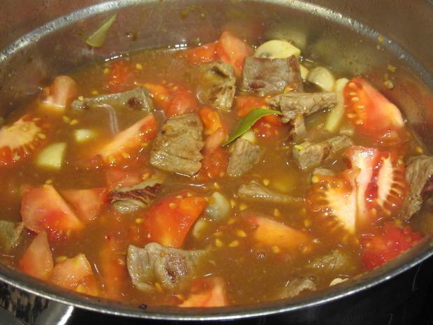 Suppen: Fränkischer Seelenwärmer - Rindfleisch-Topf mit viel Gemüse - Rezept - Bild Nr. 4276