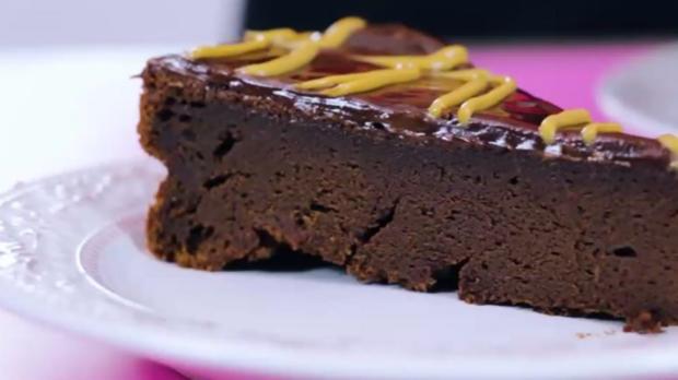 Erdnussbutter-Schokoladentorte - Rezept - Bild Nr. 3