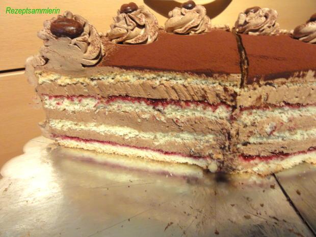 Biskuit torte stapeln