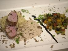 Schweinefilet an einem getrüffelten Kartoffelstampf - Rezept - Bild Nr. 4324