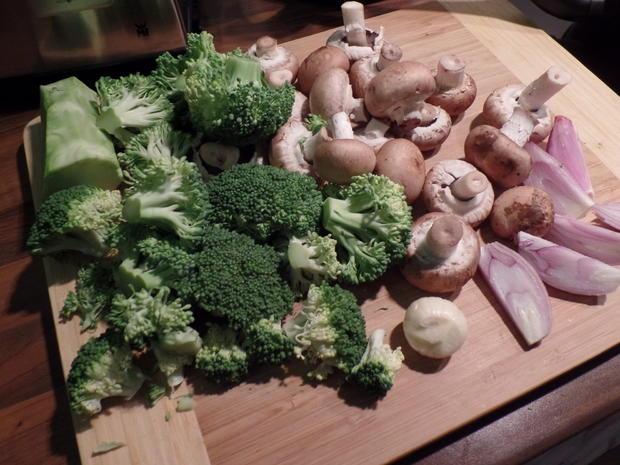 Pilz-Broccoli-Pfanne - Rezept - Bild Nr. 4332