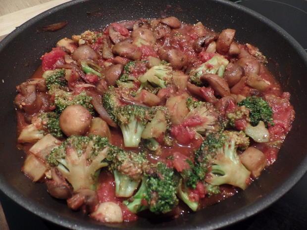 Pilz-Broccoli-Pfanne - Rezept - Bild Nr. 4337