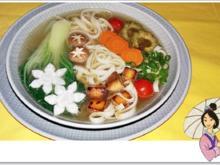 Fleischbrühe mit Nudeln, Pak Choi, Bittermelone , Tofu und .... - Rezept - Bild Nr. 4343