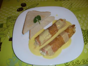 Rezept: Spargel Schinken Käse nach Wiener-Art