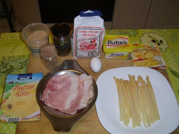 Spargel Schinken Käse nach Wiener-Art - Rezept - Bild Nr. 4352