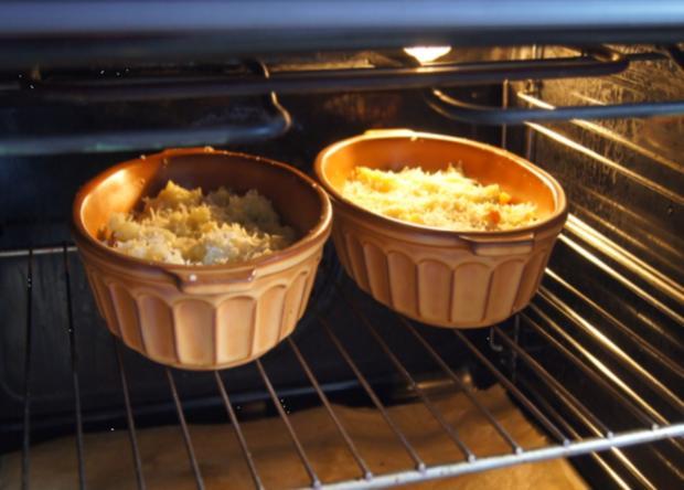 Überbackenes Rinder-Gemüse-Hackfleisch mit Kartoffelstampf - Rezept - Bild Nr. 4356