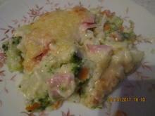 Auflauf: Blumenkohl + Brokkoli + gekochter Schinken - Rezept - Bild Nr. 4343