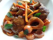 Boeuf bourguignon :ein Fleischgericht aus dem französischen Burgund.. - Rezept - Bild Nr. 4347