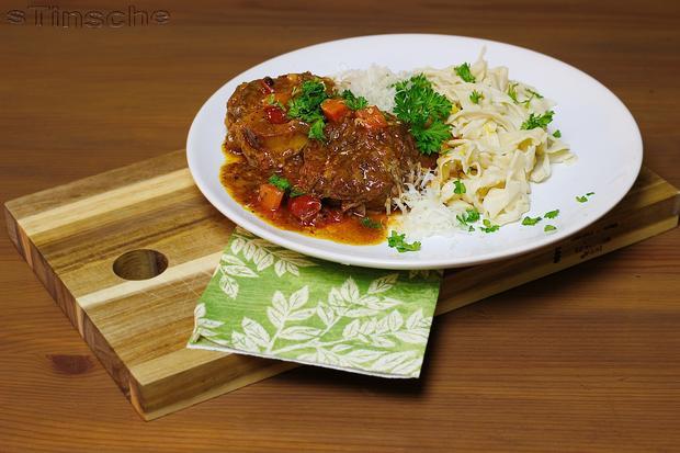 Ossobuco vom Rind mit selbstgemachter Pasta - Rezept - Bild Nr. 4360