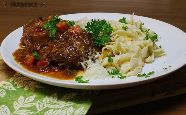 Ossobuco vom Rind mit selbstgemachter Pasta - Rezept - Bild Nr. 4363