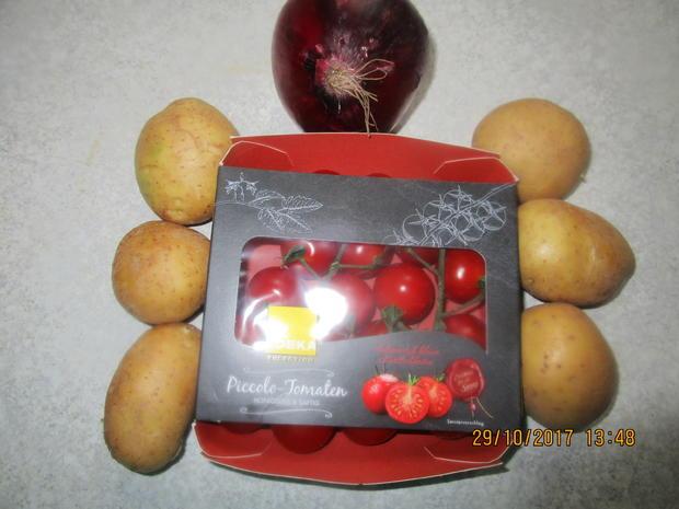 Zander mit lecker Gemüse und Tomaten-Kartoffeln - Rezept - Bild Nr. 4368