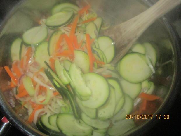 Zander mit lecker Gemüse und Tomaten-Kartoffeln - Rezept - Bild Nr. 4381