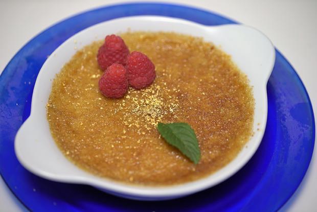 Crème brûlée mit Goldstaub - Rezept - Bild Nr. 4365