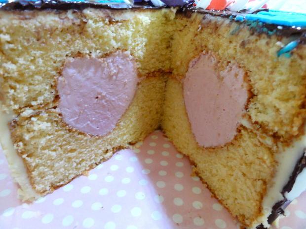 Fondant Das Herz In Der Torte Rezept Kochbar De