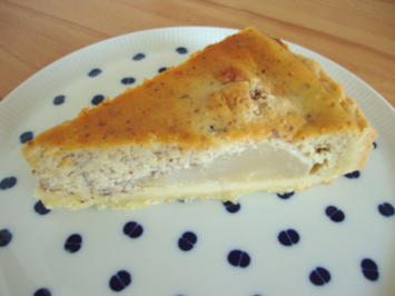Rezept: Birnen-Mandel Tarte