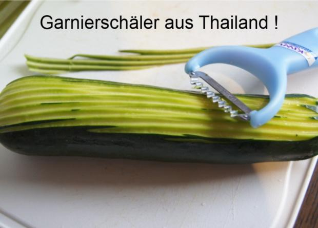 Kürbis-Gemüse-Hähnchenbrustfilet-Wok süß-sauer mit Basmatireis - Rezept - Bild Nr. 4414