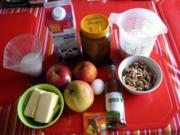 Apfel Walnuss Kuchen - Rezept - Bild Nr. 2