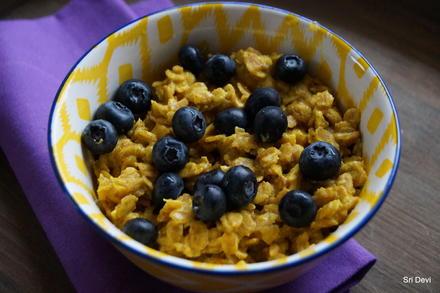 Frühstück: Kurkuma-Bananen-Porridge - Rezept - Bild Nr. 2