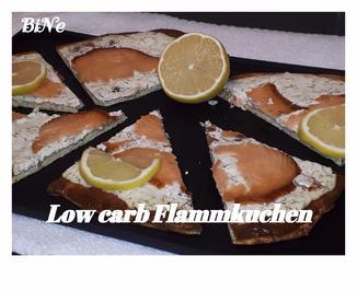 Rezept: BiNe` S LOW CARB FLAMMKUCHEN