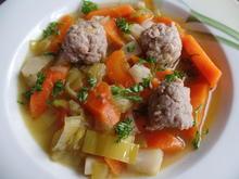 Brätklößchen-Suppe - Rezept - Bild Nr. 4468