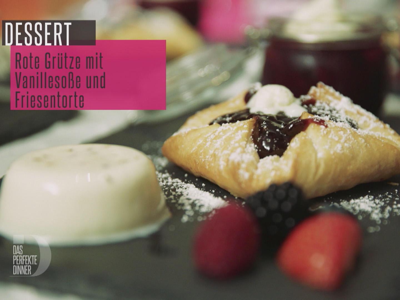 3erlei auf Schiefer Rezept By Das perfekte Dinner