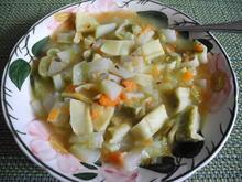Gemüseeintopf mit Maultaschen - Rezept - Bild Nr. 4474