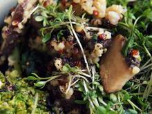 Quinoa-Champignon-Spinat-Pfanne - Rezept - Bild Nr. 4709