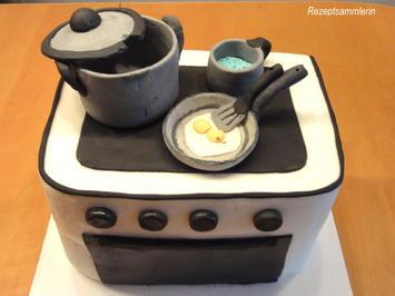 """FONDANT:   3D Torte """"MEINE VISITENKARTE"""" - Rezept - Bild Nr. 4475"""
