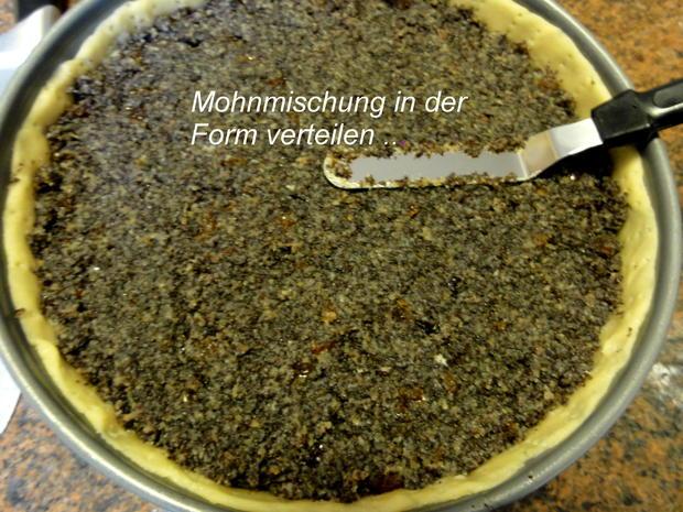 Mürbeteig:   MOHN ~ TORTE  (24cm) - Rezept - Bild Nr. 4484