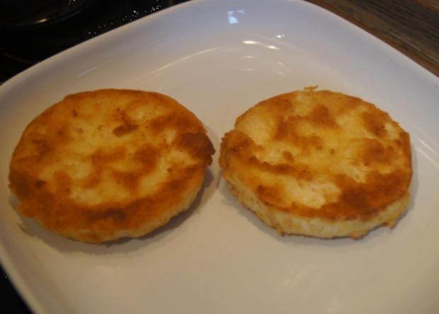 Sellerieschnitzel mit Sellerie-Kartoffelstampf und Möhrenblüten-Antipasta - Rezept - Bild Nr. 4483