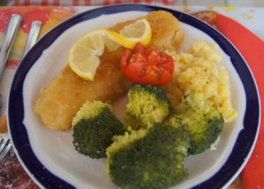 Alaska-Seelachs-Filet mit Brokkoli und Sellerie-Kartoffelstampf - Rezept - Bild Nr. 4479