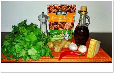 Rezept: Koriander-Pesto nach Art des Hauses