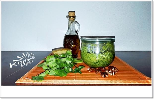 Koriander-Pesto nach Art des Hauses - Rezept - Bild Nr. 4480