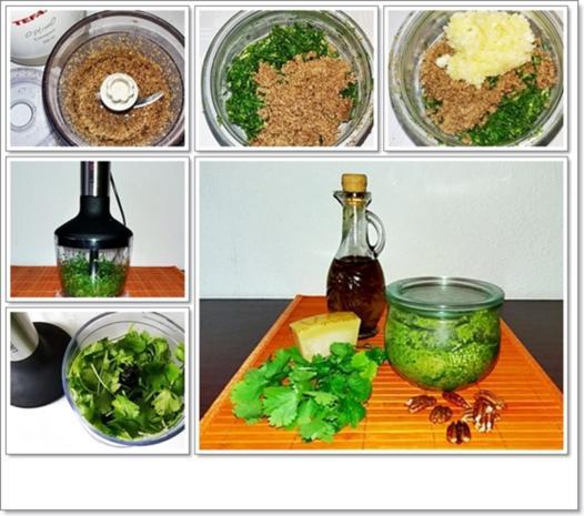 Koriander-Pesto nach Art des Hauses - Rezept - Bild Nr. 4488