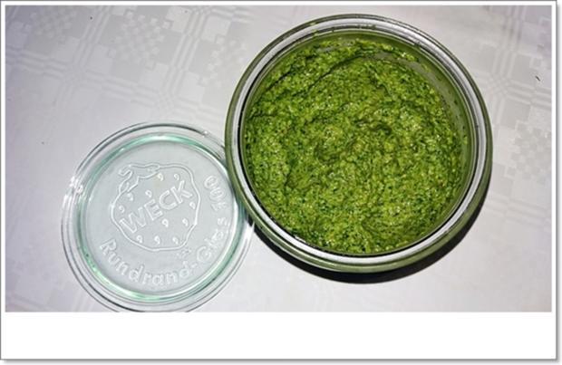 Koriander-Pesto nach Art des Hauses - Rezept - Bild Nr. 4489