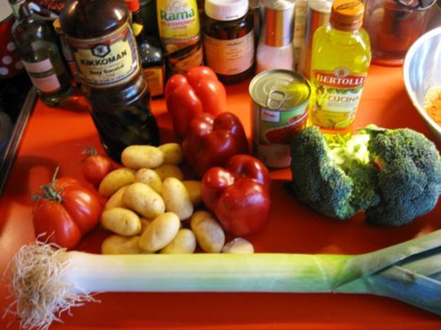 Hähnchen Gemüse Pfanne - Rezept - Bild Nr. 4481