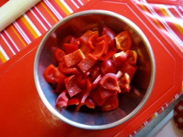 Hähnchen Gemüse Pfanne - Rezept - Bild Nr. 4487