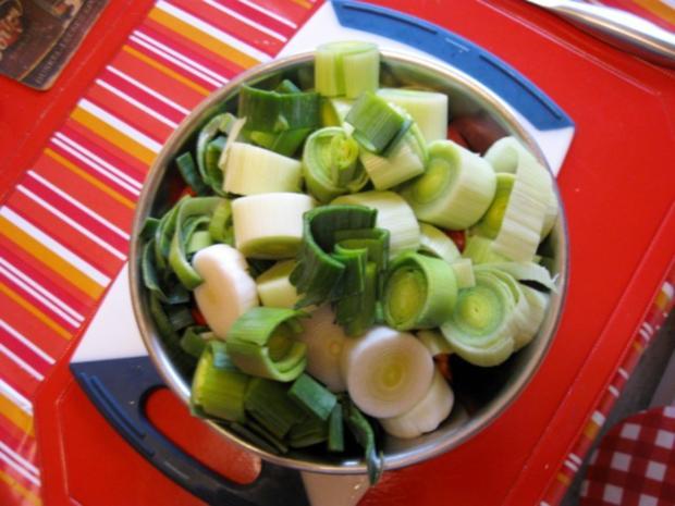 Hähnchen Gemüse Pfanne - Rezept - Bild Nr. 4488