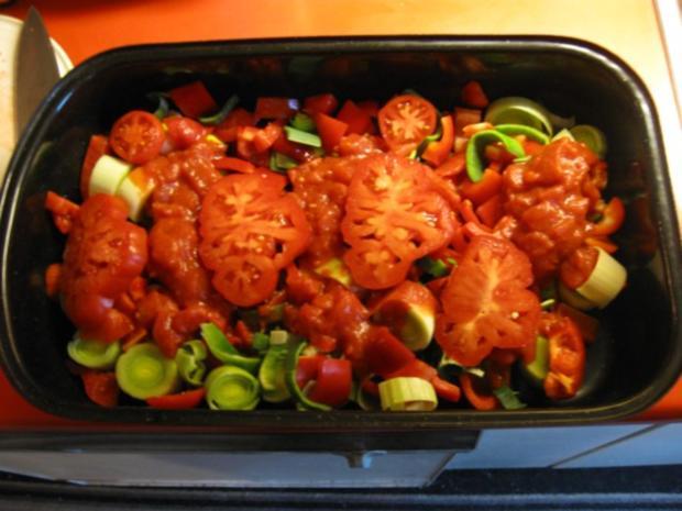 Hähnchen Gemüse Pfanne - Rezept - Bild Nr. 4489