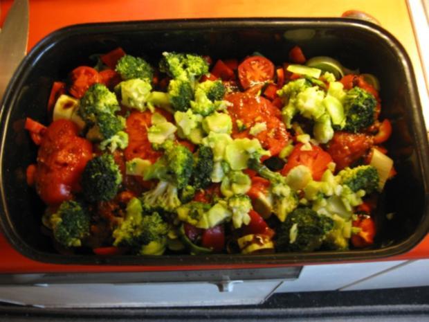 Hähnchen Gemüse Pfanne - Rezept - Bild Nr. 4490