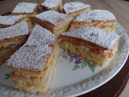 Gedeckter Apfelkuchen - Rezept - Bild Nr. 4486