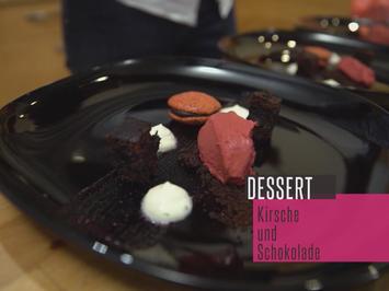Brownie mit Kirscheis und Limetten-Joghurtcreme - Rezept - Bild Nr. 2