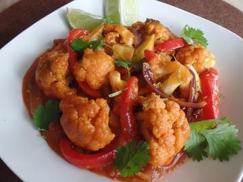 Rezept: Rotes Blumenkohl-Curry