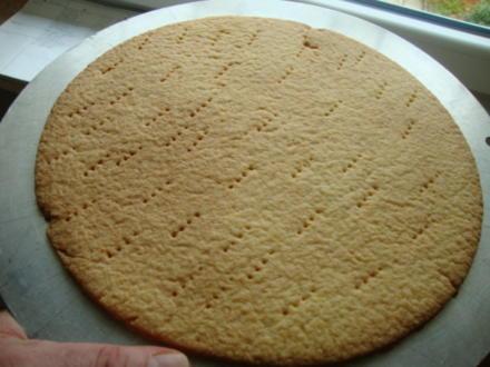 Basics - Mürbteigboden für eine Torte als Unterlage - Rezept - Bild Nr. 4550