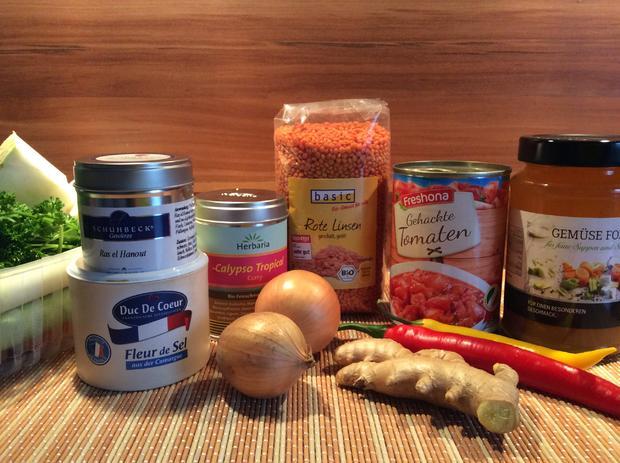 Linsensuppe mit Chili und Gemüse - scharf - Rezept - Bild Nr. 4539