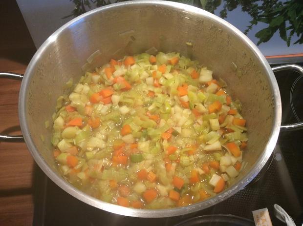Linsensuppe mit Chili und Gemüse - scharf - Rezept - Bild Nr. 4540