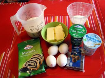 Mohnkuchen mit Schokoguss - Rezept - Bild Nr. 2