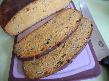 Rezept: Möhren - Brot aus meiner Versuchsküche