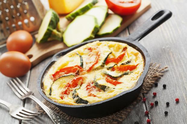 Herzhafte Pfannkuchen mit Gemüse - Rezept - Bild Nr. 2