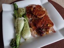 Karamelisiertes Schweinefilet mit Sesam-Pak Choi - Rezept - Bild Nr. 4551